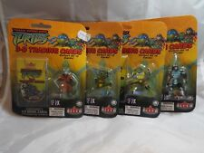 TEENAGE MUTANT NINJA TURTLES 3-D TRADING CARDS LOT OF 4 PACKS.