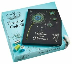 Make Your Own Thread String Art Starter Kit Set Creative Craft Hobby Picture