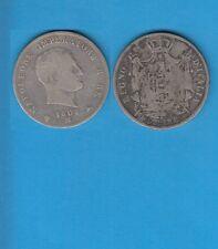 Gertbrolen Italie Napoleone imperatore e re  5 Lire argent 1808 Milano