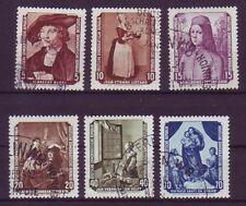 Gestempelte Briefmarken der DDR (1949-1990) mit Kunst-Motiv