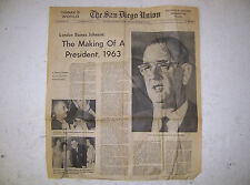 LYNDON BAINES JOHNSON - THE MAKING OF A PRESIDENT 11/24/1963