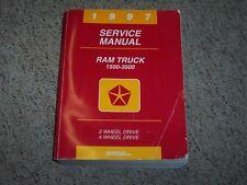 1997 Dodge Ram Truck 1500 Factory OEM Shop Service Repair Manual Laramie SLT LT
