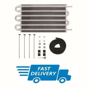 Mishimoto Universal Transmission Fluid Cooler 305 x 190 x 19mm With Fitting Kit