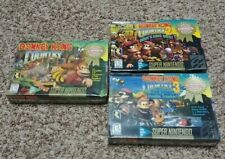 DONKEY KONG COUNTRY 1 2 & 3 TRILOGY SUPER NINTENDO SNES NEW & SEALED