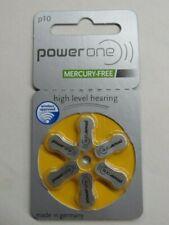 Power-One Battery 10, (60ea/pkg) p10 Zinc Air Hearing Aid Batteries 310 Exp 3/22