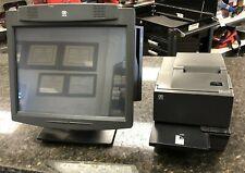 """Ncr 70Xrt Pos Terminal 7403-1310 2.26Ghz 15"""" 2Gb w/ Ncr 7167-2011 Pos Printer"""
