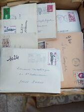 lot de plus de 300 lettres France TIMBREES des annees 1970 avec correspondance