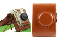 Brown Leather Case Bag protector For Lomography Lomo'Instant Camera - Sanremo