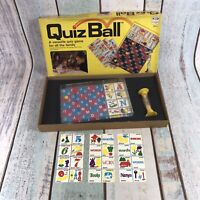 Vintage retro Ideal Quiz Ball Quiz Game 1978 Complete