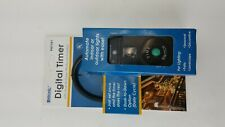 DIGITAL INDOOR OUTDOOR TIMER AUTOMATE LIGHTS WITH EASE PHOTOCELL FUNCTION