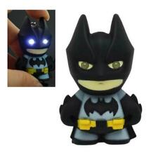 BATMAN KEYCHAIN w LED Light and Sound Comic Book Superhero Toy Key Ring Chain