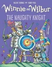 Winnie the Witch Story Book - WINNIE AND WILBUR THE NAUGHTY KNIGHT -  NEW