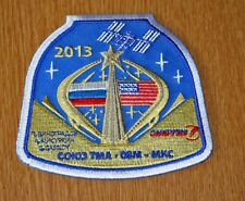 """4"""" TMA-08M MKC ISS MANNED SPACE MISSION PATCH"""