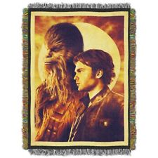 Star Wars Han Solo Two Pirates Woven Tapestry Throw