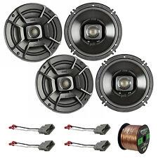 "4x Polk Marine 6.5"" Speakers, 4x Metra Connector Harness (Honda), 50' Wire"