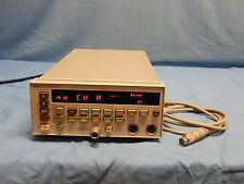Agilent HP 438A Dual Channel Power Meter With One Sensor Cable TESTED