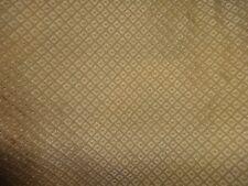 "Veratex Gold Squares Textured Dual King Bedskirt 15"" Drop Split Corner"