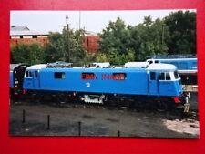 PHOTO  CLASS 83 LOCO NO E3035 83012 AT BARROW HILL 7/10/01