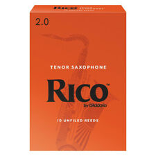 Rico Tenor Saxophone Reeds Strength 2.0 (Box of 10)