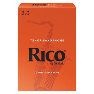 Rico Tenor Saxophone Reeds Strength 2.0 (Box of 10)