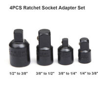 4pcs Impact Reducer Adapter Socket Wrench 1/4 3/8 1/2 Drive Air Ratchet Set Tool