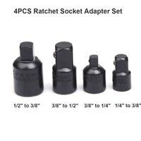 4pcs Impact Reducer Adapter Socket Wrench 1/4 3/8 1/2 Drive Air Ratchet Set Tool