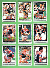 2000  SYDNEY ROOSTERS  NRL  RUGBY LEAGUE CARDS