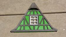 Vintage 1993 Playmobil Medieval  Caste 3666 Wood Frame Wall Green