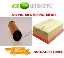 GAS SERVICE KIT OIL AIR FILTER FOR MERCEDES SPRINTER 316 NGT 1.8 156BHP 2009-