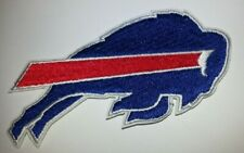 """Buffalo Bills Embroidered PATCH~3 1/2"""" X 1 3/4""""~Iron Sew On~NFL~Ships FREE"""