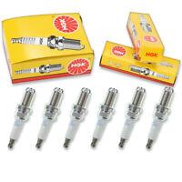 6 pc 6 x NGK Standard Plug Spark Plugs 5881 BKR7EKU 5881 BKR7EKU Tune Up Kit kn
