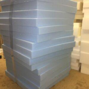 HIGH Density Foam Upholstery Foam Cushion cut to any size Replacement Sofa SHEET