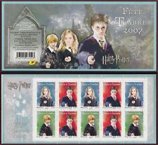 2007 FRANCE Carnet BC4024a**  FETE du TIMBRE HARRY POTTER Stamp day Booklet MNH