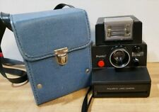 Vintage Polaroid Pronto Camera with Flash and Case