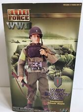 BBI ELITE FORCE 1/6 SCALE WW II US CHUCK HAYES LIEUTENANT US ARMY FIRST INFANTRY