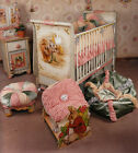 Plenty's Horn hand painted Baby furniture set (Crib, Changing table, Armoire)