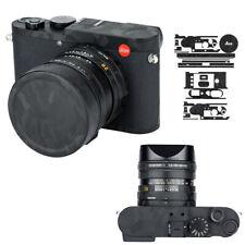 Anti-Scratch 3M Camera Body Lens Cap Skin Protector Film Cover for Leica Q2