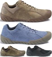 CAT CATERPILLAR Haycox en Cuir Sneakers Baskets Chaussures pour Hommes Nouveau