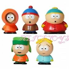 The South Park Stan Kyle Eric Kenny  Cute Figure Toys Gift Set of 5pcs US