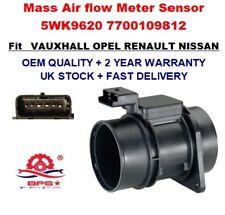 Medidor de Flujo Masa Aire Sensor 5WK9620 para Renault Opel Nissan Calidad Oem