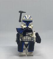 Lego Star Wars Captain Rex phase 2 Custom Mini-figure High Quality