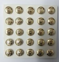 Genuine British Army Issue The Royal Engineers Dress Cap Buttons 22L x25 NEW