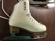 Jackson freestyle model 2191 figure ice skates size 3.5 C Aspire blades Vguc!