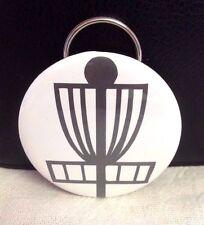 Disc Golf Bottle Opener Key Chain! Basket Silhouette! PERFECT zipper pull bag!