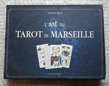 Coffret L'art du Tarot de Marseille par Isabelle Weiss Édition Larousse