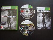 TOMB RAIDER + UNDERWORLD : LOT 2 JEUX Microsoft XBOX 360 (envoi suivi)