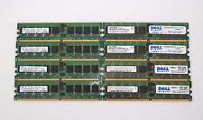 Mix Lot of 8 Hynix Samsung Elpida 1GB 1Rx4 PC2-3200R-333  DDR2 Desktop Memory