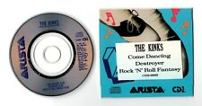The Kinks Promo-CD COME DANCING Arista 1988 USA 3-track CD3-3005 ( 3 Inch)