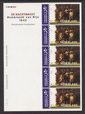 NVPH V1907 velletje De Nachtwacht 110ct 2000 postfris