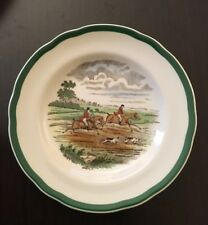 SPODE MADE IN ENGLAND SALAD THE HUNT FIRST OVER 2/9265 K UNUSED COND